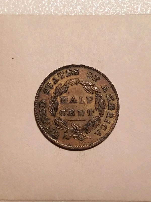 1835 Large Cent. N-16, Doubled Profile EF SOLD   Red Lion